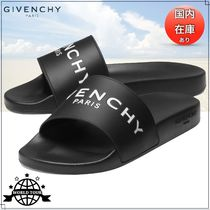 GIVENCHY Unisex Plain Shower Shoes PVC Clothing Shower Sandals