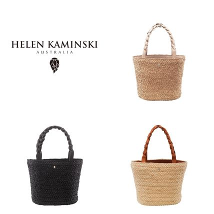 Street Style A4 Straw Bags