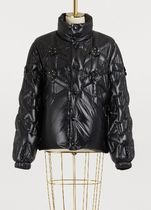MONCLER Short Street Style Collaboration Plain Down Jackets
