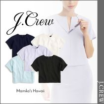 J Crew Casual Style Short Sleeves Shirts & Blouses