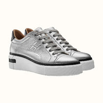 HERMES Platform Casual Style Plain Leather