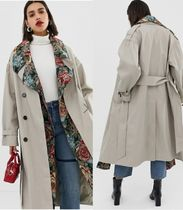 ASOS Stand Collar Coats Casual Style Coats
