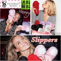 Victoria's secret Platform Round Toe Casual Style Plain Slippers Shoes