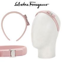 Salvatore Ferragamo Leather Elegant Style Headbands