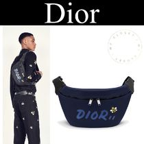 Christian Dior Unisex Canvas Street Style Collaboration