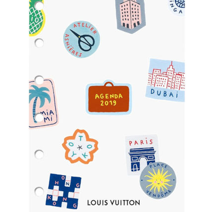 5d3006729b4 Louis Vuitton 2019 Cruise Unisex Notebooks (RA4019) by 奏 ...