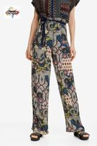 Desigual Long Wide Leg Pants