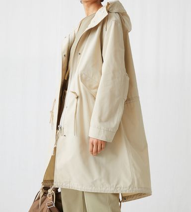Casual Style Plain Outerwear