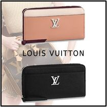 Louis Vuitton Calfskin Long Wallets
