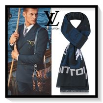 Louis Vuitton Unisex Blended Fabrics Scarves
