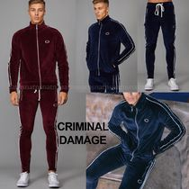 CRIMINAL DAMAGE Street Style Top-bottom sets