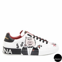 Dolce & Gabbana Other Animal Patterns Leather Sneakers