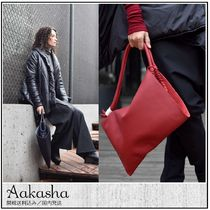 Aakasha Casual Style Plain Leather Purses Handbags