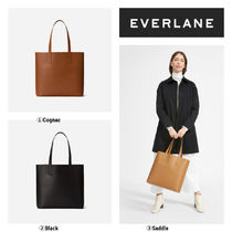 Everlane Casual Style Plain Leather Totes