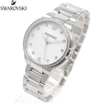 SWAROVSKI Quartz Watches Stainless Analog Watches