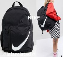af3842c00a2d Nike Casual Style Unisex Street Style A4 Plain Backpacks