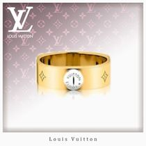 Louis Vuitton MONOGRAM Casual Style Unisex Studded Rings