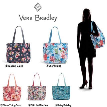Paisley Tropical Patterns Casual Style Totes