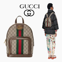 GUCCI Ophidia Casual Style Canvas Backpacks