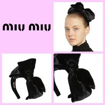 MiuMiu Coin Party Style Hair Accessories
