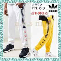 adidas Printed Pants Stripes Unisex Sweat Patterned Pants