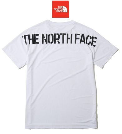 THE NORTH FACE Crew Neck Crew Neck Unisex Plain Short Sleeves Crew Neck T-Shirts