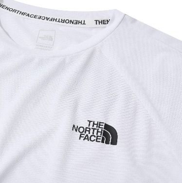THE NORTH FACE Crew Neck Crew Neck Unisex Plain Short Sleeves Crew Neck T-Shirts 3