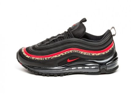 Nike AIR MAX 97 2019 SS Leopard Patterns Casual Style Street Style Leather (BV6113 001)