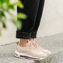 Nike AIR MAX 97 Casual Style Street Style Plain Leather Low-Top Sneakers