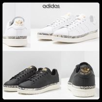 adidas STAN SMITH Casual Style Unisex Other Animal Patterns Low-Top Sneakers