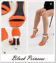 ASOS Open Toe Street Style Pin Heels Heeled Sandals