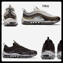 Nike AIR MAX 97 Camouflage Casual Style Unisex Low-Top Sneakers
