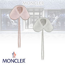 MONCLER Blended Fabrics Plain Elegant Style Detachable Collars