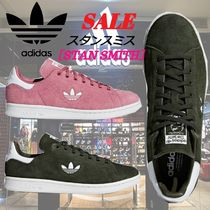 adidas STAN SMITH Stripes Unisex Suede Street Style Sneakers