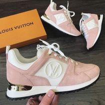 cb360251824 Louis Vuitton Casual Style Suede Bi-color Low-Top Sneakers