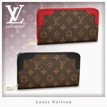 Louis Vuitton ZIPPY WALLET Monogram Unisex Canvas Blended Fabrics Long Wallets