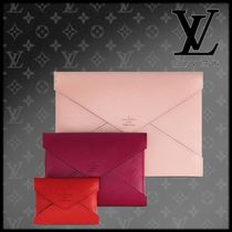 Louis Vuitton Bag in Bag Leather Office Style Shoulder Bags