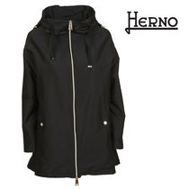 HERNO Casual Style Plain Medium Jackets