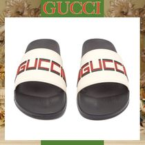 GUCCI Street Style Shower Shoes Shower Sandals