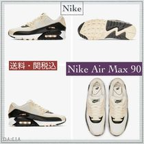 Nike AIR MAX 90 Platform Casual Style Unisex Street Style