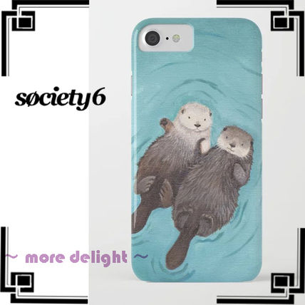 Society6 Smart Phone Cases Unisex Street Style Other Animal Patterns Smart Phone Cases