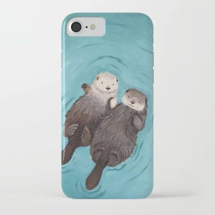 Society6 Smart Phone Cases Unisex Street Style Other Animal Patterns Smart Phone Cases 2