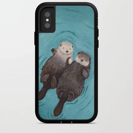 Society6 Smart Phone Cases Unisex Street Style Other Animal Patterns Smart Phone Cases 8