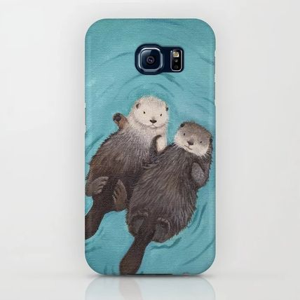 Society6 Smart Phone Cases Unisex Street Style Other Animal Patterns Smart Phone Cases 12