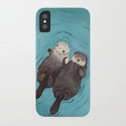 Society6 Smart Phone Cases Unisex Street Style Other Animal Patterns Smart Phone Cases 15