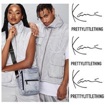 PrettyLittleThing Casual Style Unisex Street Style Vest Cardigans