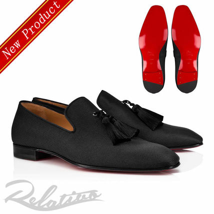 Loafers Tassel Plain Loafers & Slip-ons