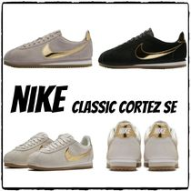 Nike CORTEZ Casual Style Suede Street Style Plain Low-Top Sneakers