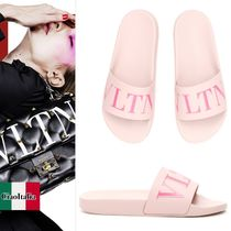 VALENTINO PVC Clothing Flat Sandals