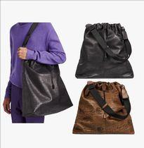 Berluti Street Style A4 Leather Totes